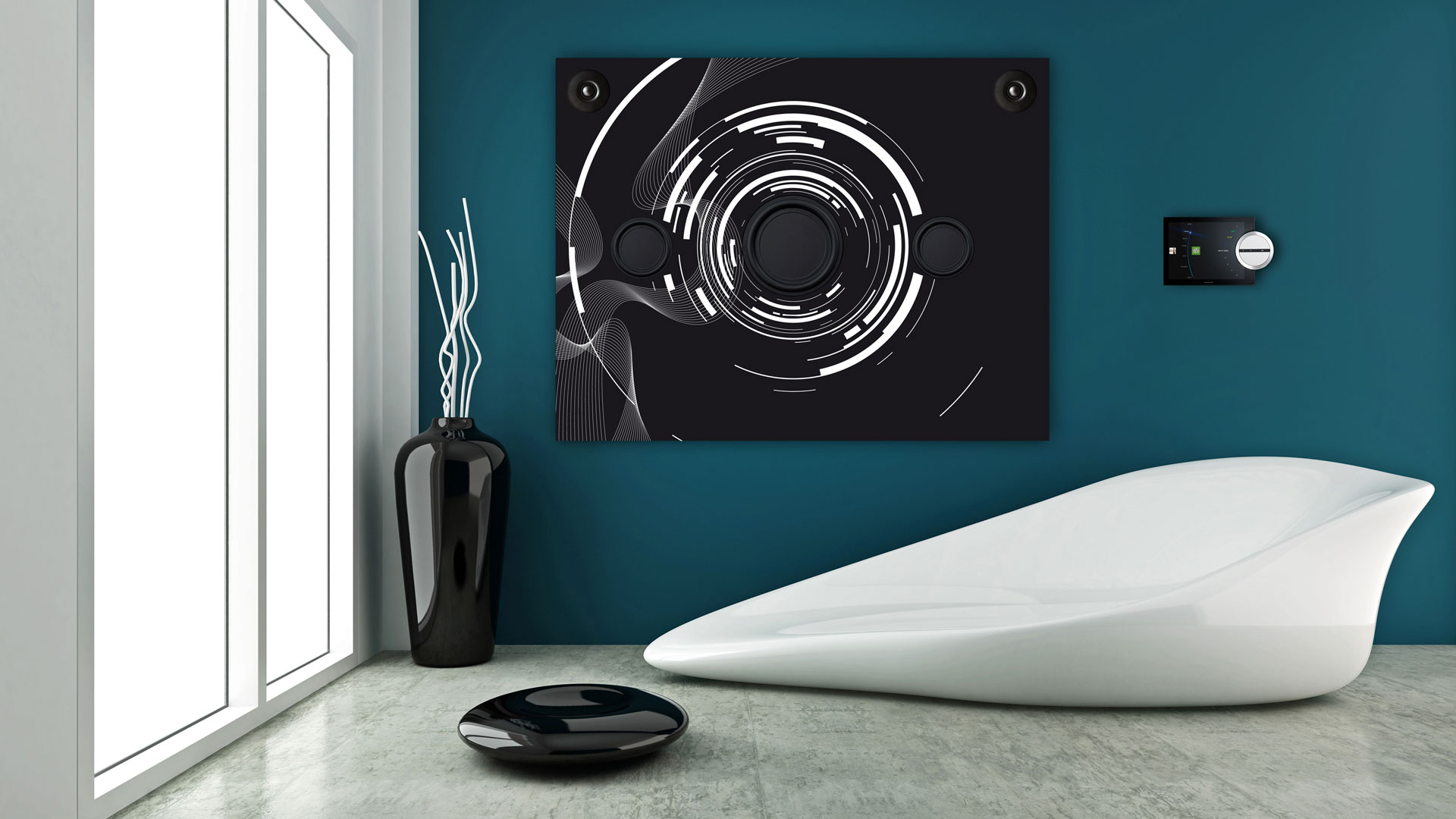 Sound Art Concept: Black Hole.