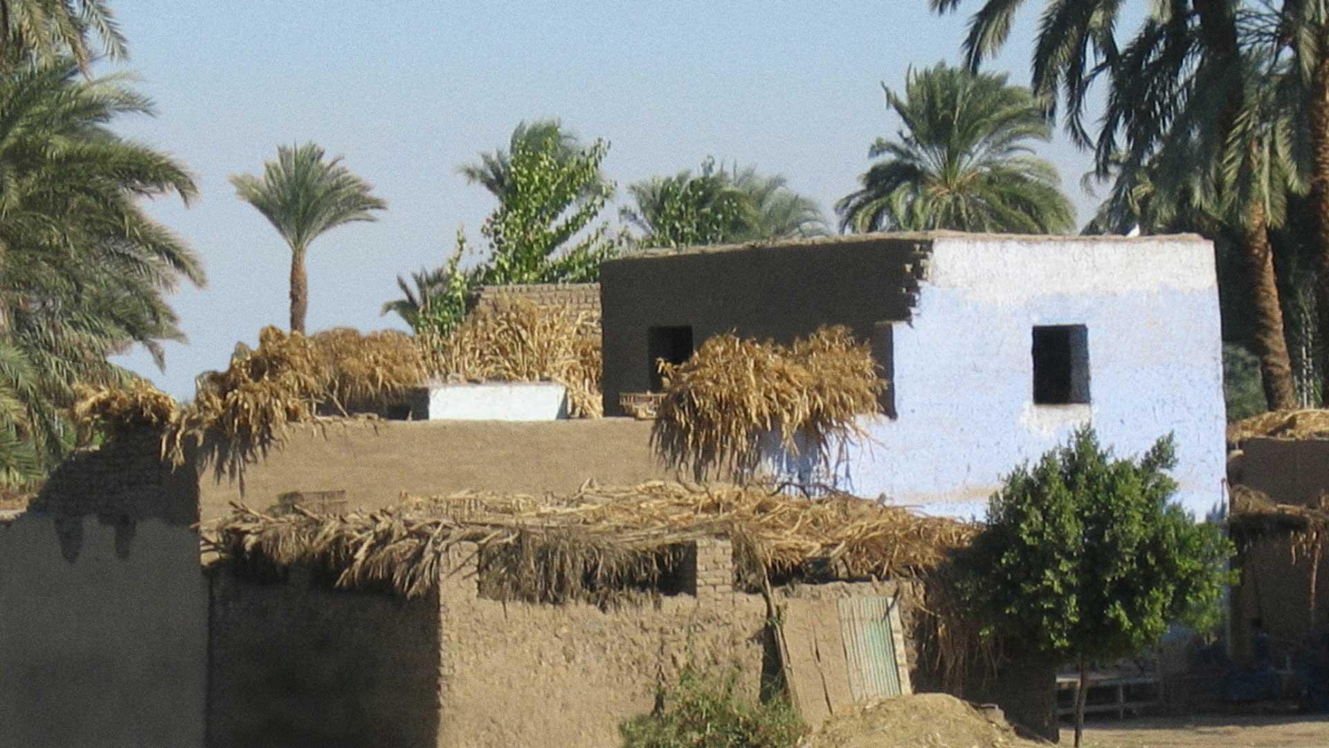 Ägyptisches Farmhouse.