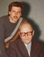 Gregor Spörri und Dr. Carl Bader (1988).