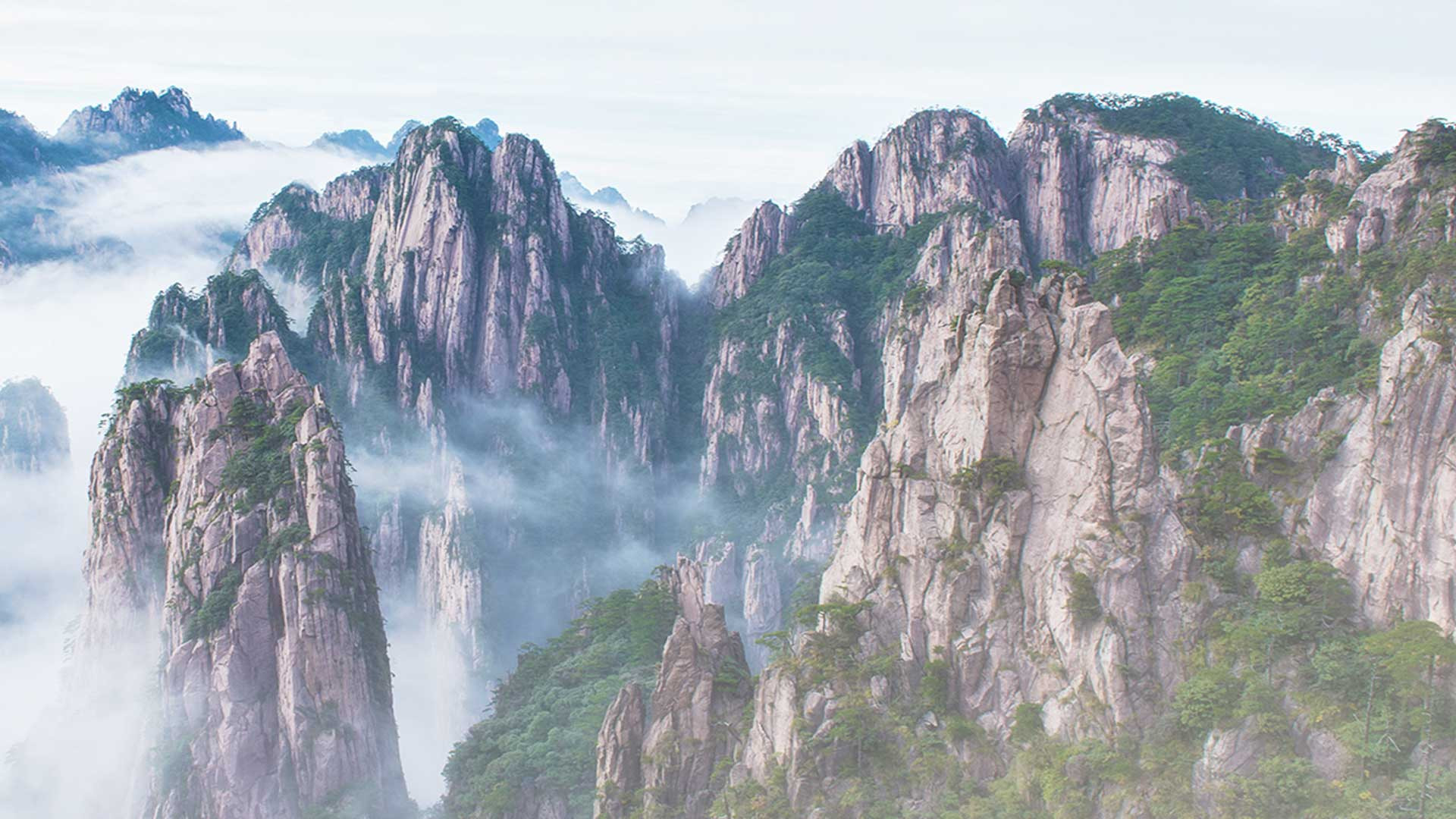 Place of power for meditation: The Blumenberg in the southern Chinese province of Anhui.