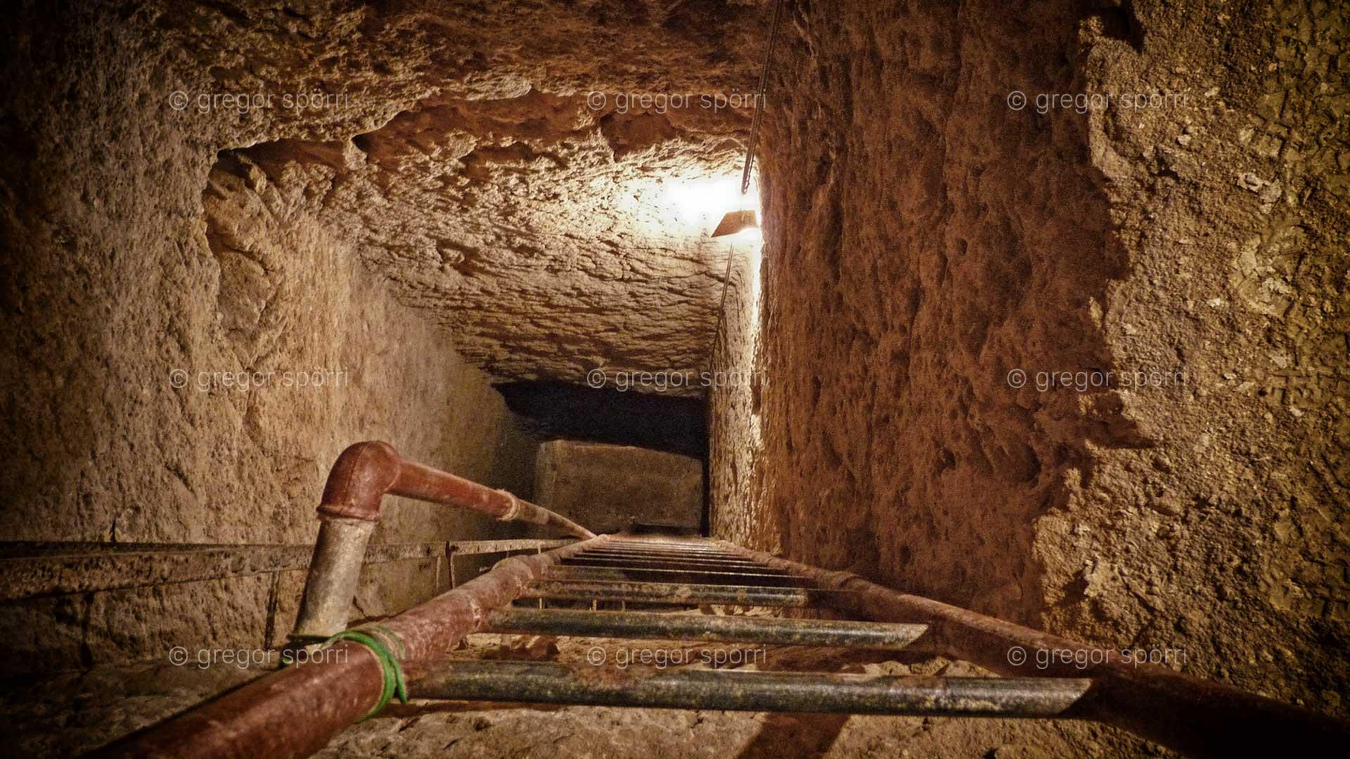 Einstieg zur Ebene/Kammer zwei.
