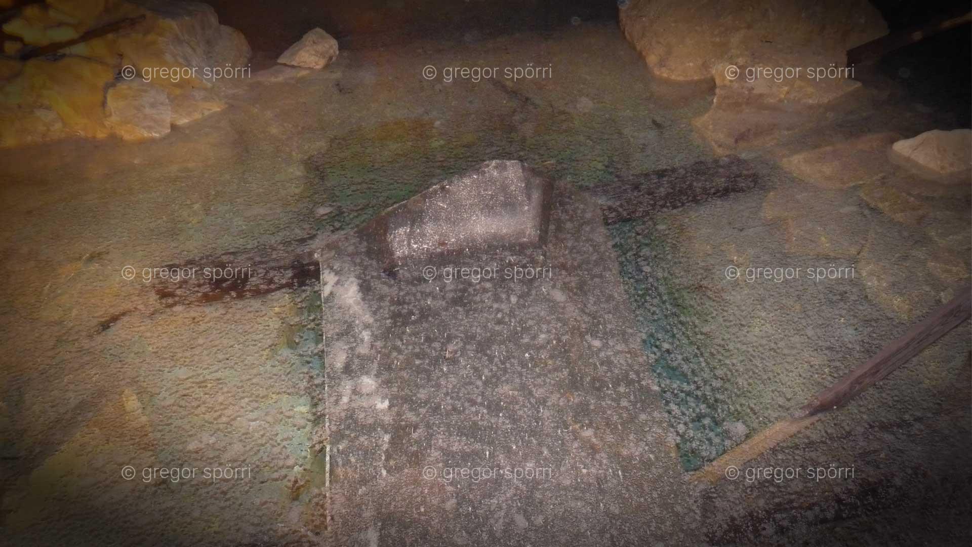 Osiris-Grab (Schacht) in Gizehi: Sarkophag von Phara Cheops oder dem Gott Osiris?