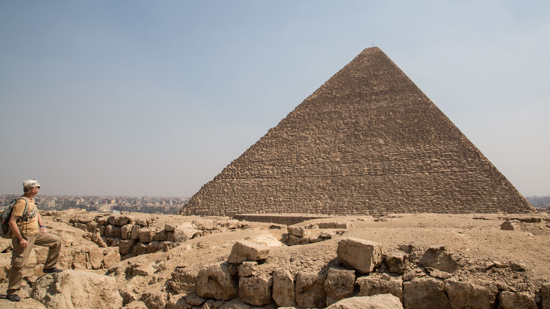 Does the Great Pyramid come from pre-sin-flood time?