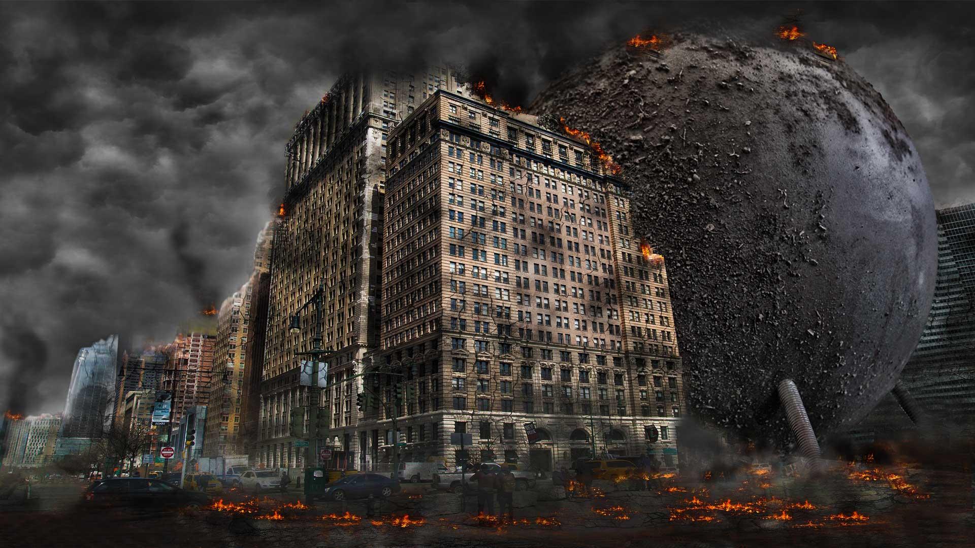 LOST GOD - The Last Judgment: UFO Lander Destroys St. Petersburg.
