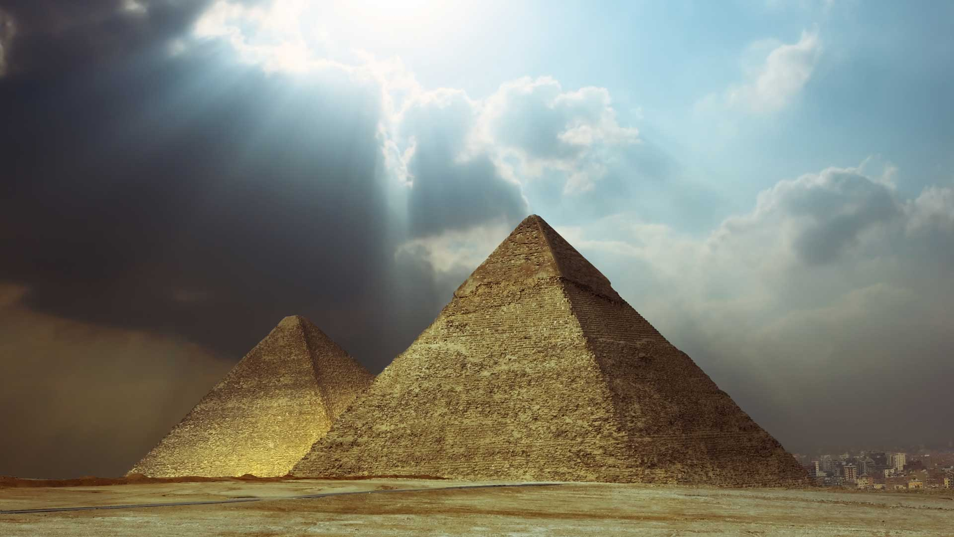 Are there actual secret chambers in the pyramid of Cheops?