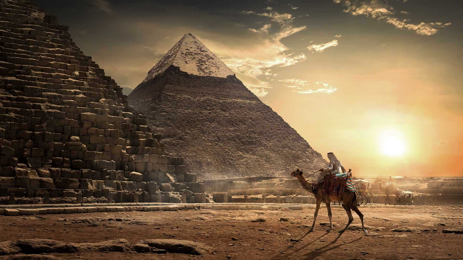 Mysterious, enigmatic secret chamber discovered in the Great Pyramid of Cheops.
