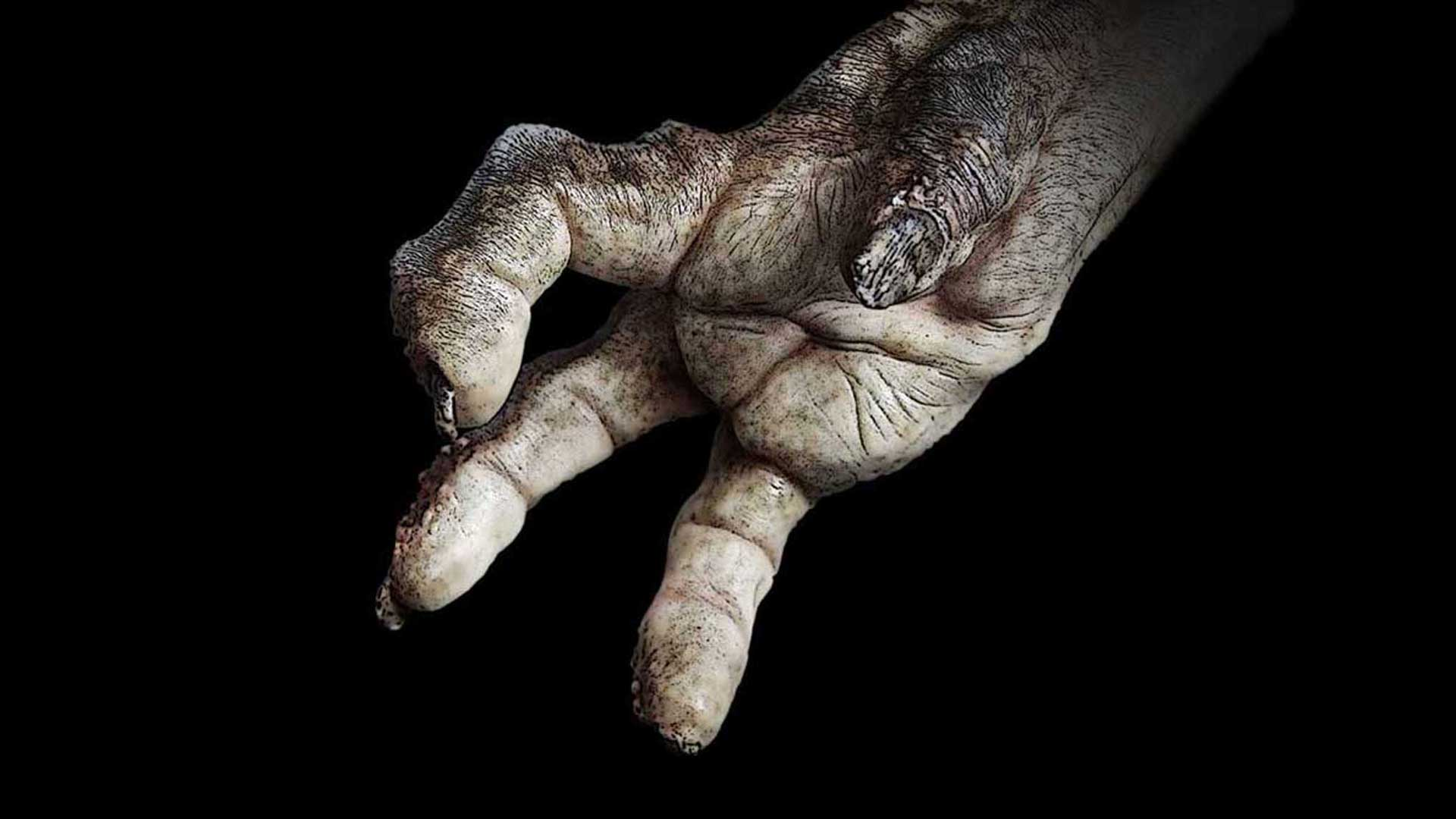 The hand of a biblical giant, Nephilim.