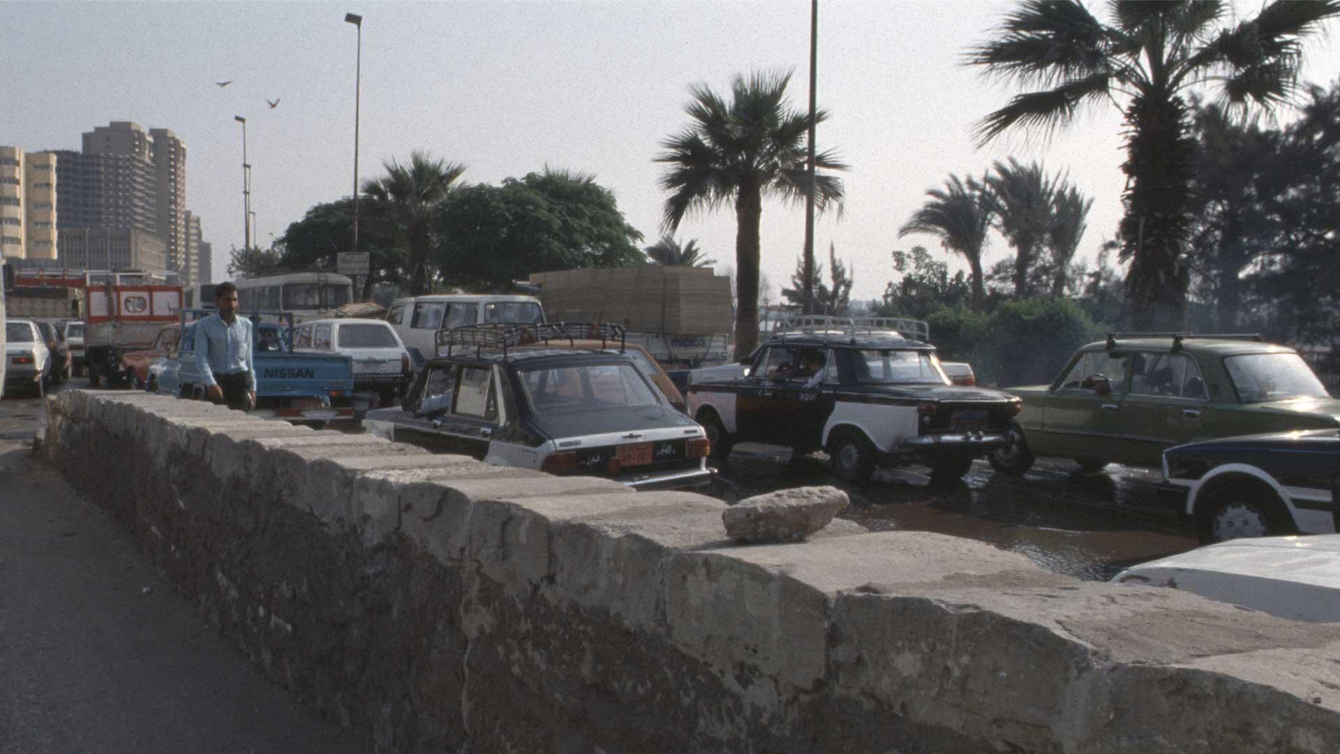 Von Kairo nach Bir Hooker.