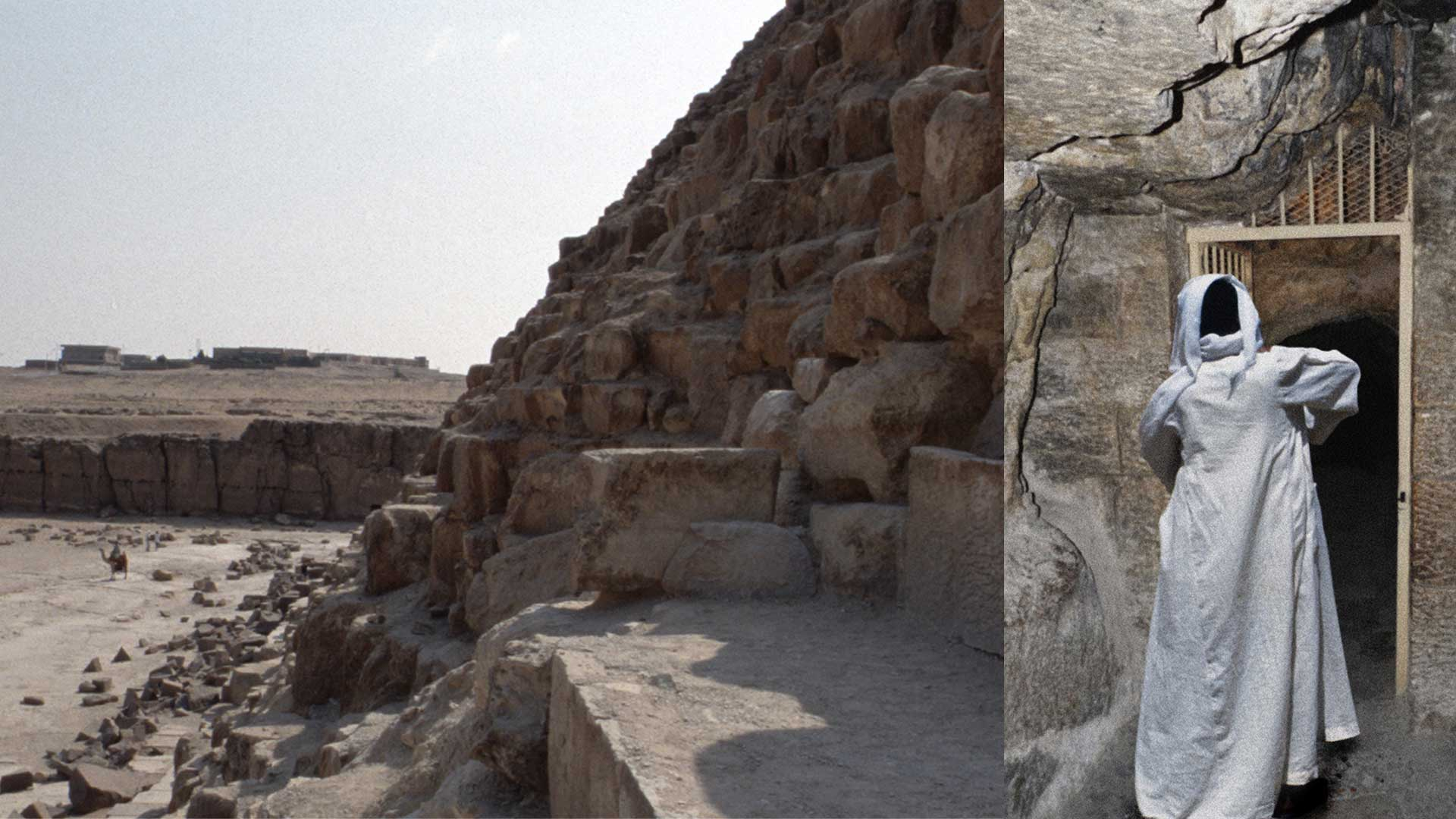 A Guardian Includes Spörri in the Pyramid of Cheops (1988)