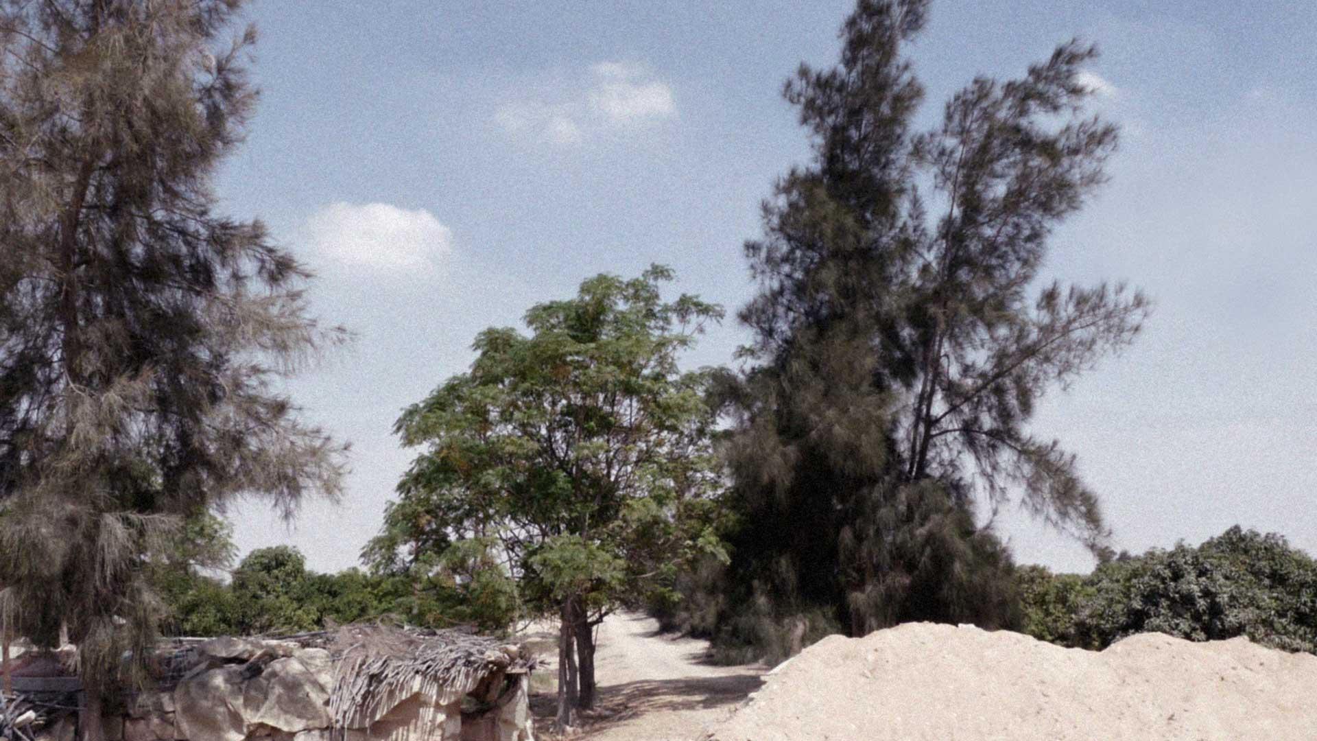 Weg zum Haus von Nagib bei Bir Hooker, Ägypten.