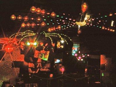 Z-Productions installiert die Lightshow im Startos Club Basel.