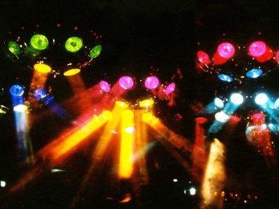 Z-Productions konstuiert weltgrößten Roboter-Lichteffekt für RAI-Uno (1987).