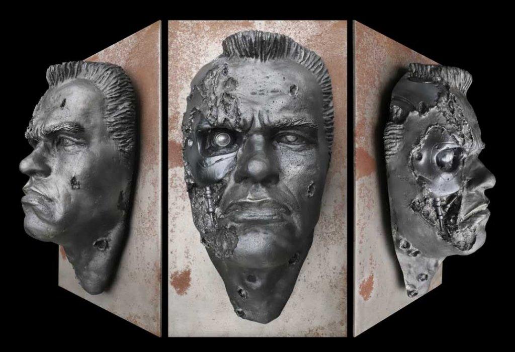Schwarzenegger Terminator Relief.